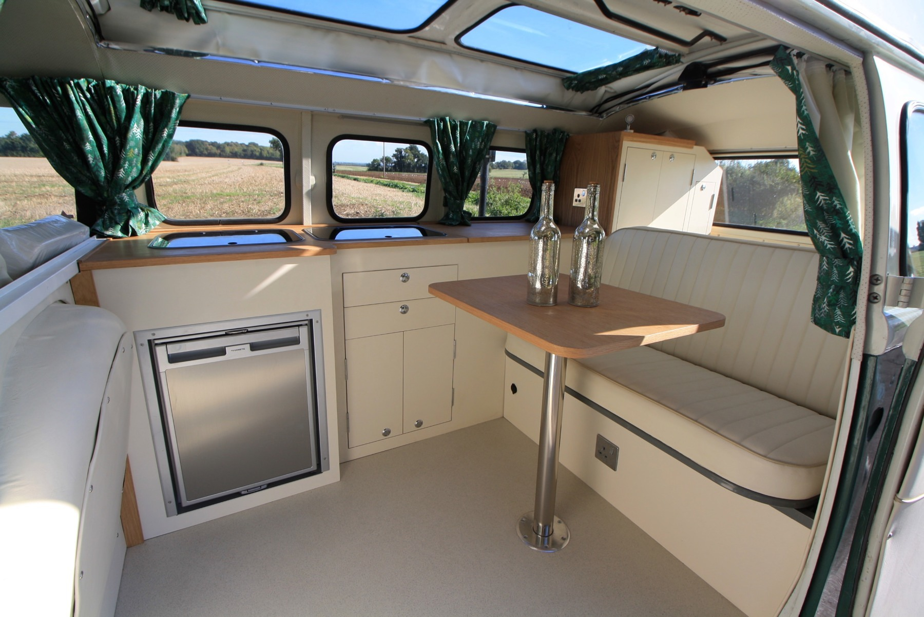 Something A Bit Different Here A 3 4 Width Bespoke Interior For A Vw Split Screen Sold To A Lovely Couple Uk Sports Carsuk Sports Cars